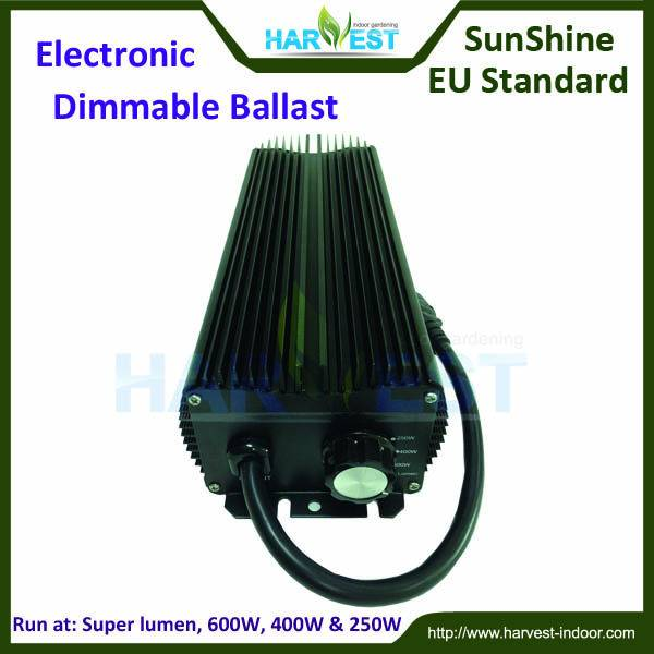 Grow light MH/HPS electronic ballast 600W