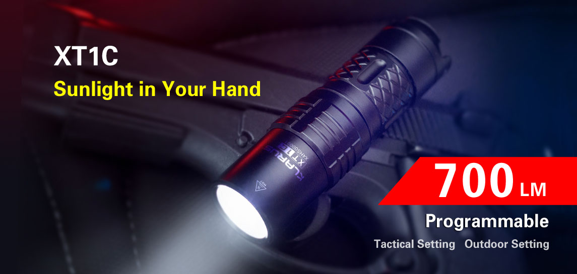 Tactical/Outdoor Flashlight-Klarus XT1C