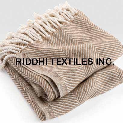 Herringbone Woven Bedspreads