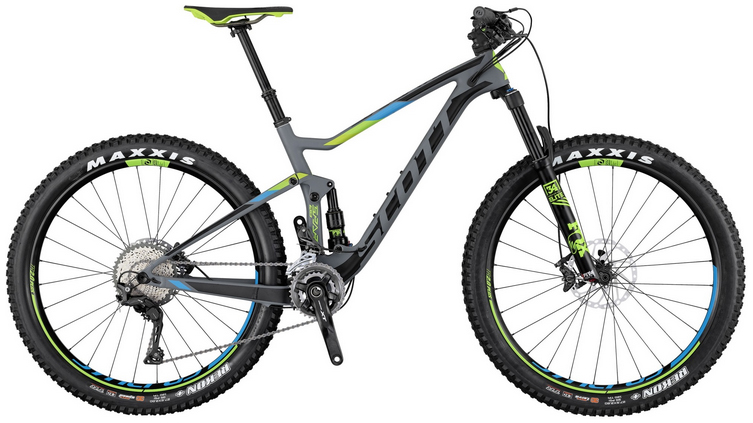 2017 Scott Spark 710 Plus Mountain Bike