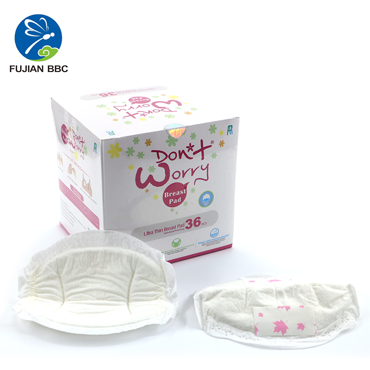 High Quality OEM 3D Ultra Soft Disposable Breathable Lactation Breast Nursing Pads