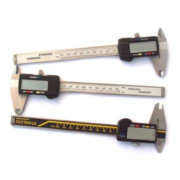 Left hand Electronic Digital Vernier Caliper and Electric Calliper Gauge Big Lcd Measuring Tools