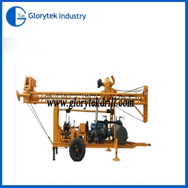 GL-II trailer type water well drill rig