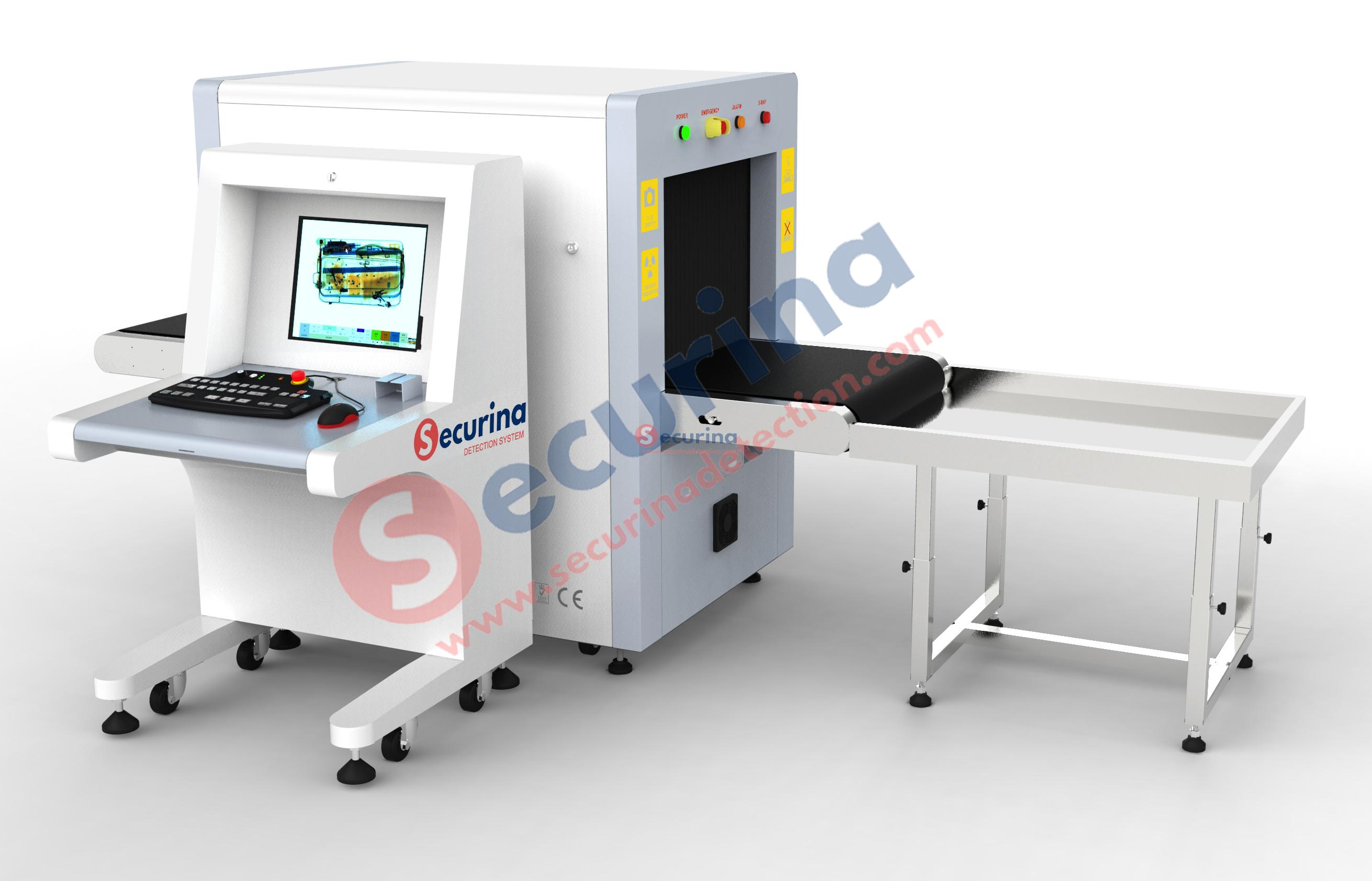 Securina-SA6550 Baggage Inspection X-ray Scanner Machine ((Suitcase/ABS/Spinner/Children toys)