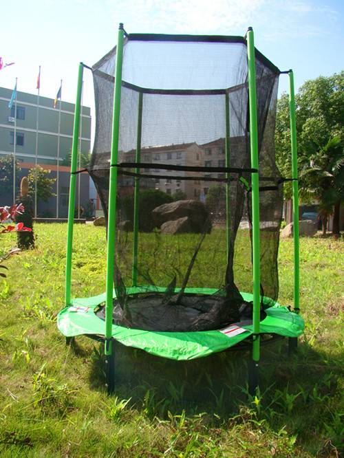 Kids Trampoline With Safety Enclosure