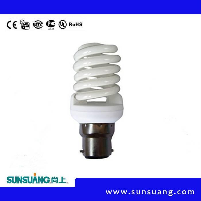 Sunsuang Full Spiral energy saving lamp 8W E27/E14 6400K/2700K