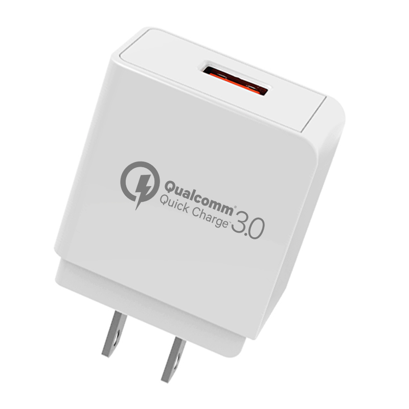 Qualcomm 3.0 USB 3.0 Quick Charger with Single USB Port