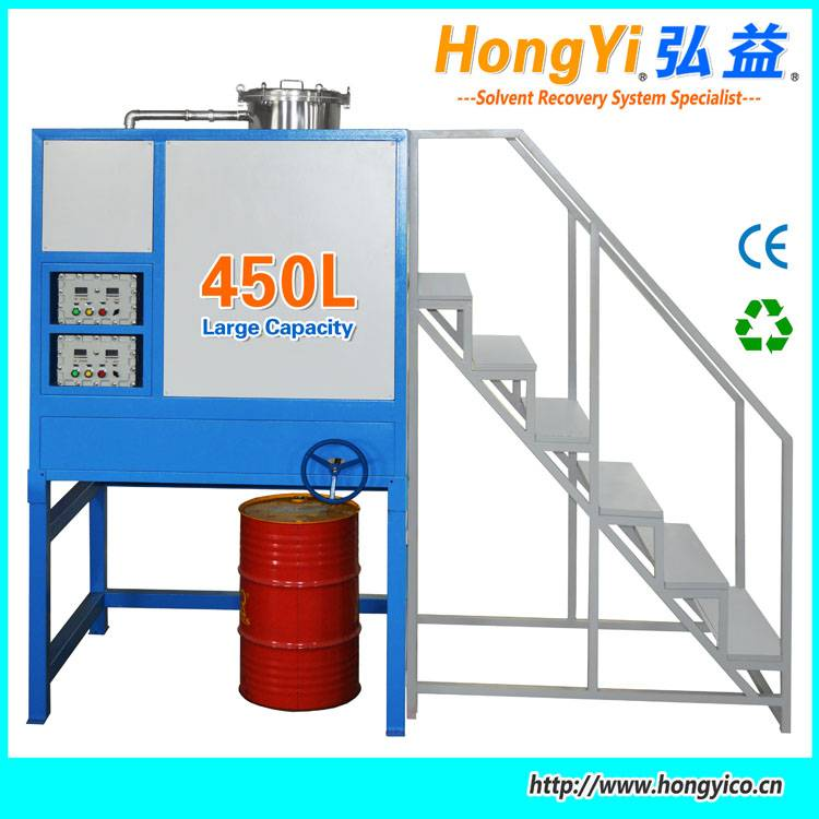 cleaning agent recovery system