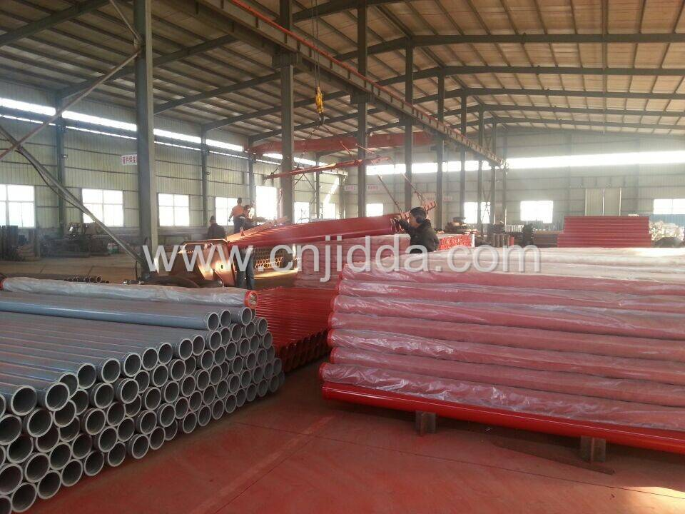 Schwing/PM Concrete Pump Steel Pipe (Two Wall)