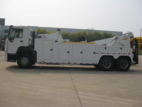 18 ton integrated tow truck