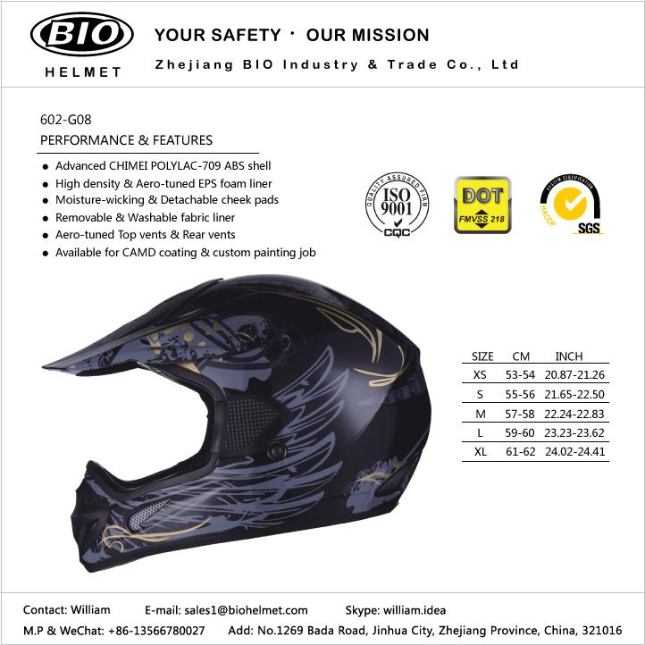 Adult dir bike helmets DOT certificated