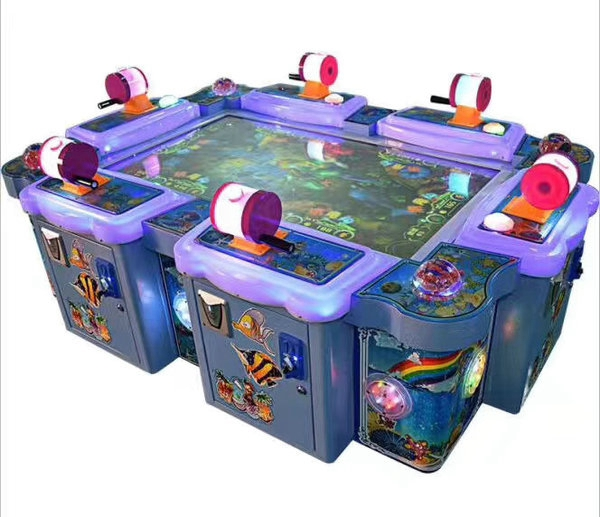 Arcade Game Fish Hunter Game Machine Ocean Monster Ocean King 6P fish Redemption Table Game Machine