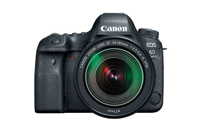 Canon EOS 6D Mark II Digital SLR camera with EF 24-105mm f/3.5-5.6 IS STM Kit