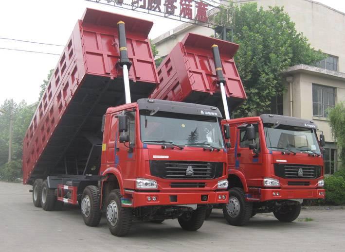 SINOTRUK  HOWO Chassis 8x4 Dump Truck (38T)