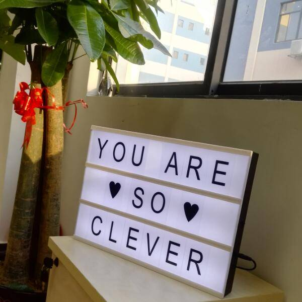 A3 interchangeable letter light box