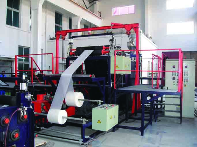 Package net production line