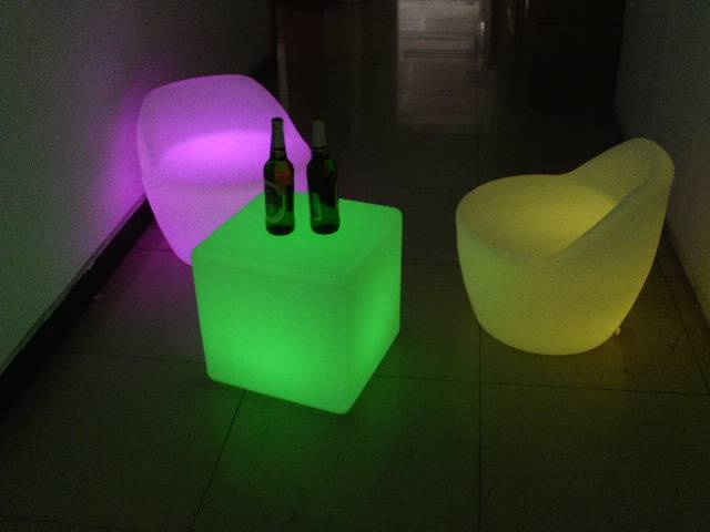 Rechargeable bar furniture&led table&led furniture&led Chair&led Cube Manufacture On Sales.....