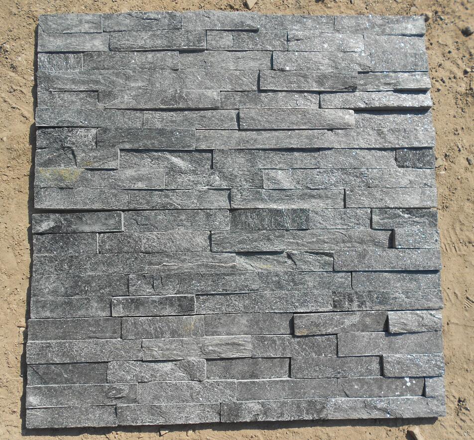 black cultured stone 60x15cm