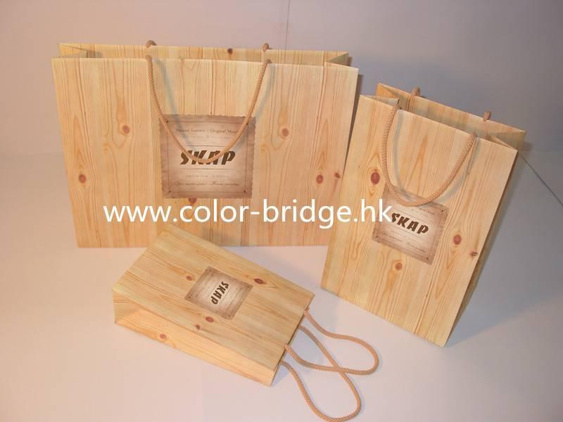 Hot Sale Customizing Kraft Shopping Paper Hand Bag Portable Gift Bag