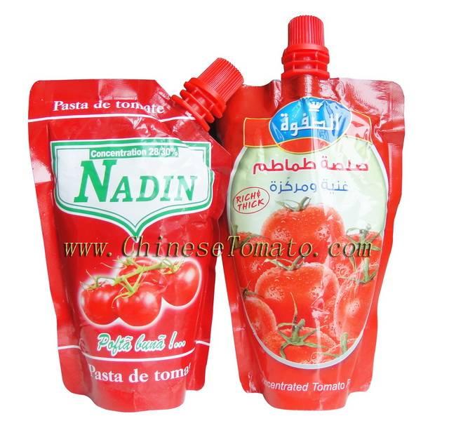 Doy pack tomato paste