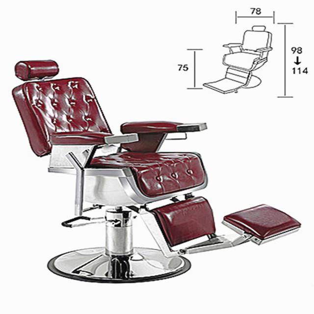 2018 Fashion Comfortable Salon Furniture chair Reclining Hydraulic Barber Chair