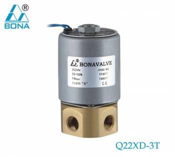 "Bona AC220V 1/8"" Dental solenoid valve Q22XD-3T"