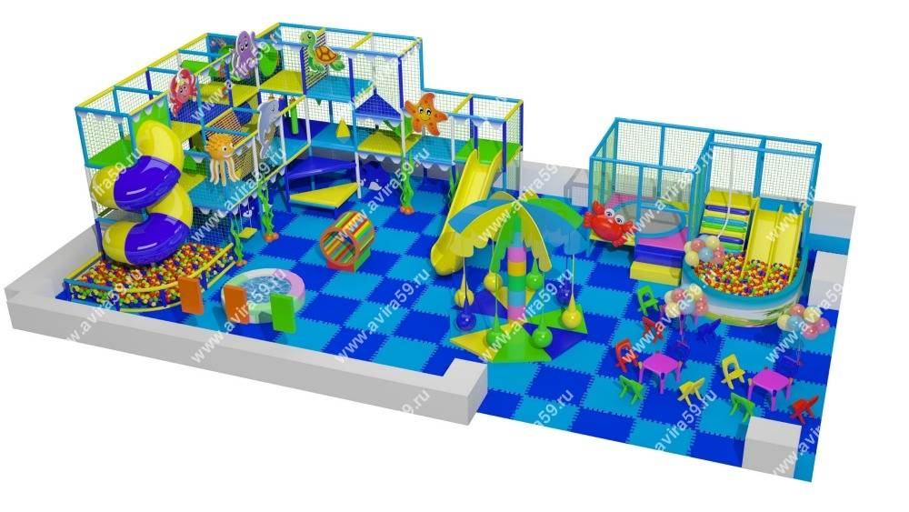 Indoor playground Blue Lagoon