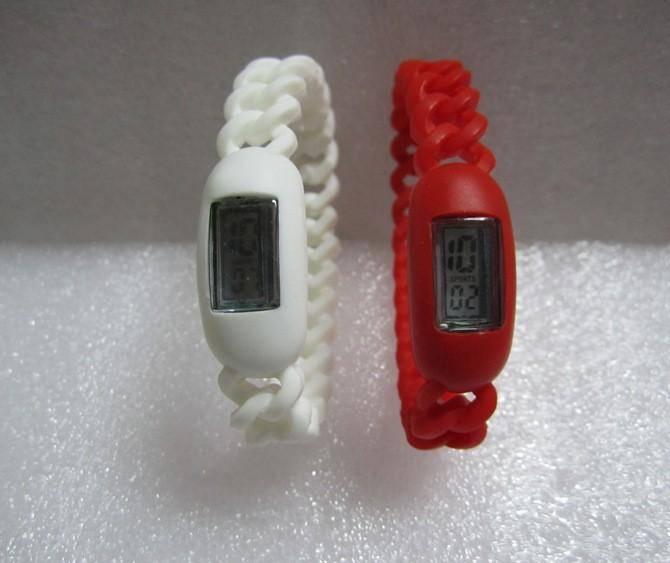Silicone Twist Digital Watch