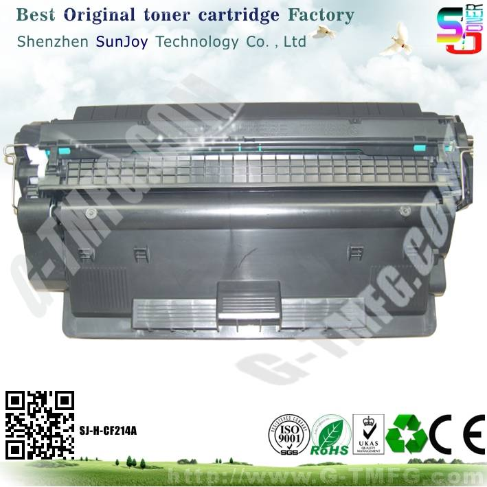 Sunjoy14A toner cartridge CF214A compatible for HP Laserjet Enterprise 700 Printer M712n M712dn M712