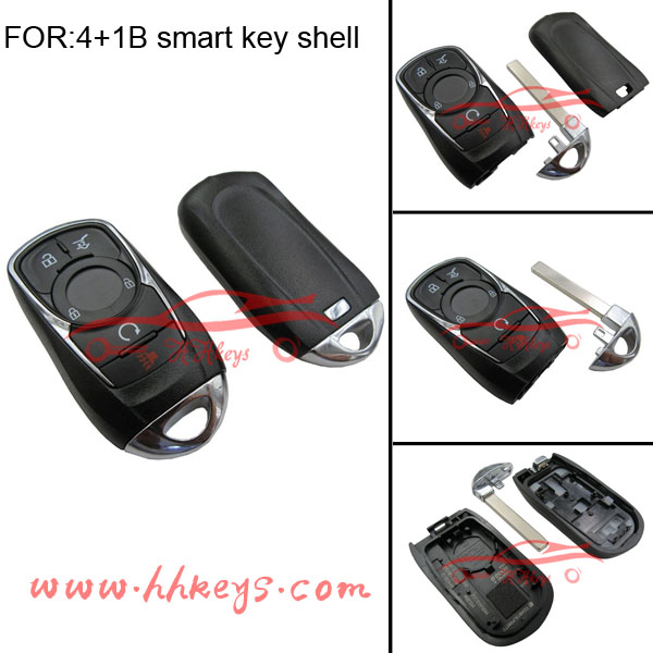 New keyless entry Buick Envision 5 Buttons smart key shell