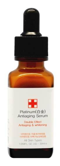 Platinum Antiaging Serum Double Effect