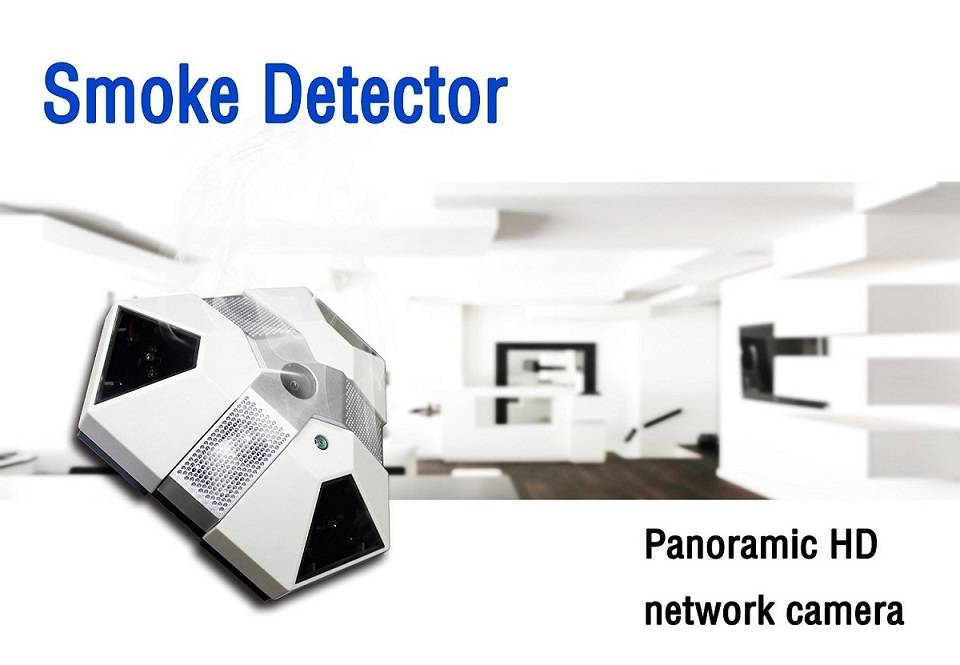 1080P HD Wifi Smoke Seneor Spy Hidden Camera