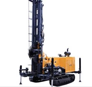 New Type High Efficiency Crawler Mounted JDL-300A Drilling Rig