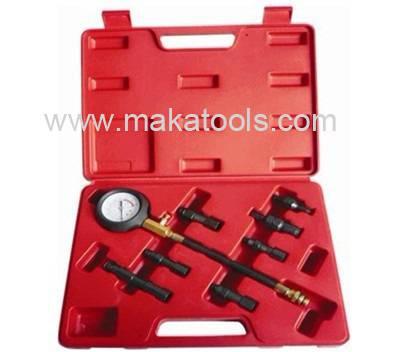 Auto Diagnostic Tools & 8 pcs Petrol engine compression tester kit (MK0119)