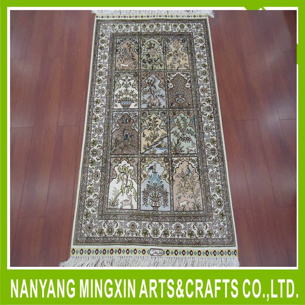 persian design handmade wool silk chinese carpet and rugs with factory prices