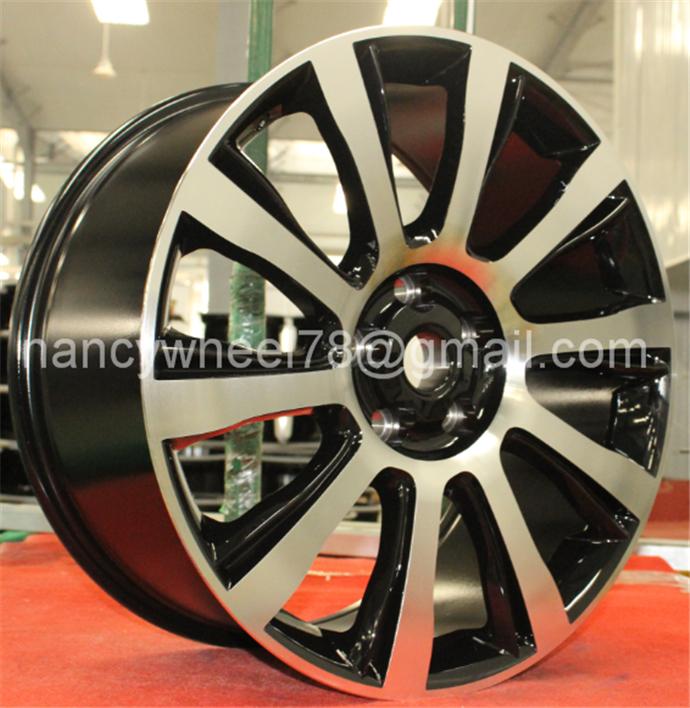 Land rover Aluminium Alloy replia car wheel rims 12-26 inch 3/4/5/6/8/10 holes