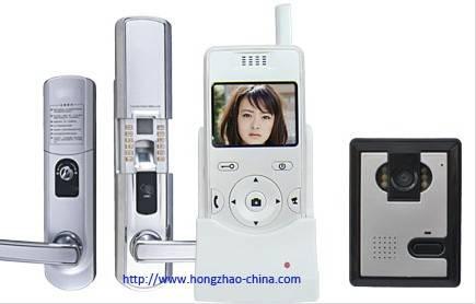 Wireless video door control system