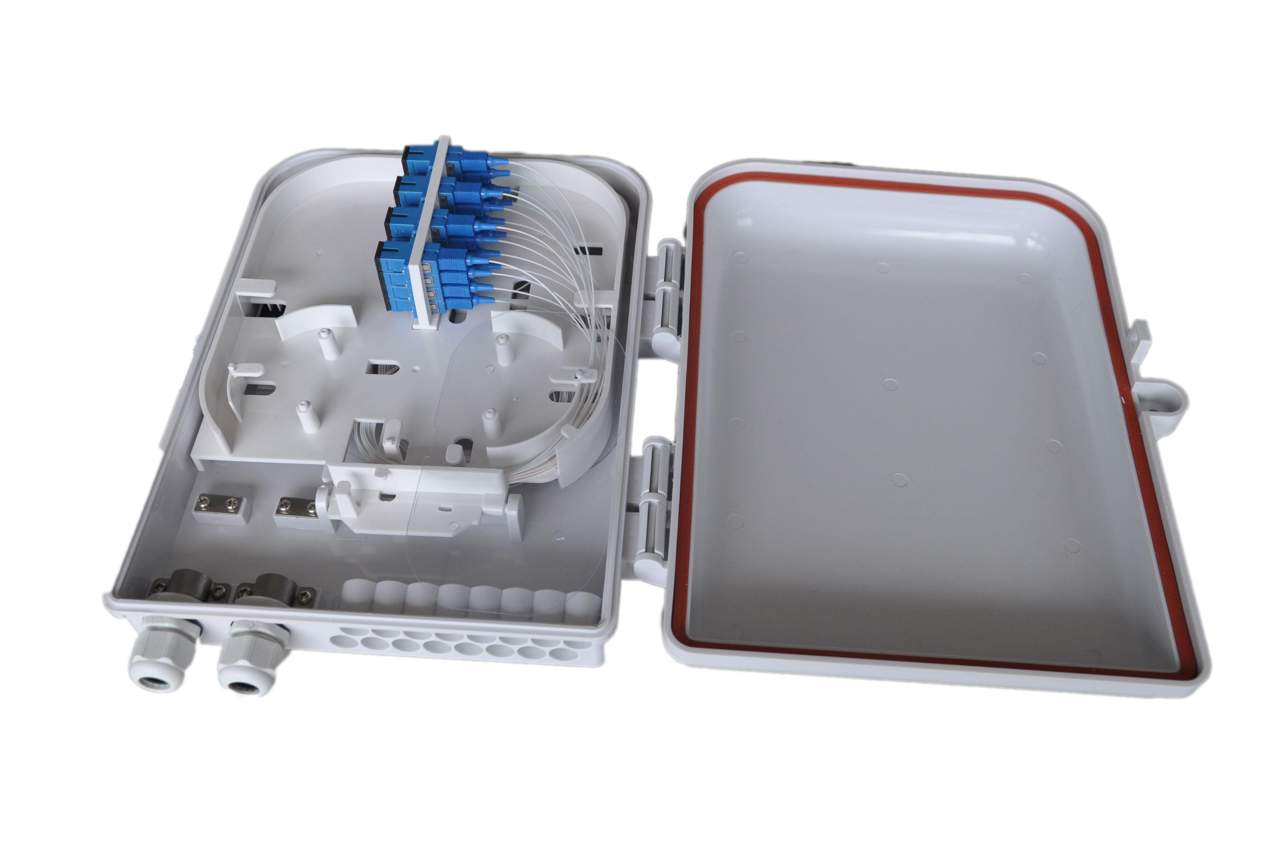 16 cores fiber termination box, FTTH box,