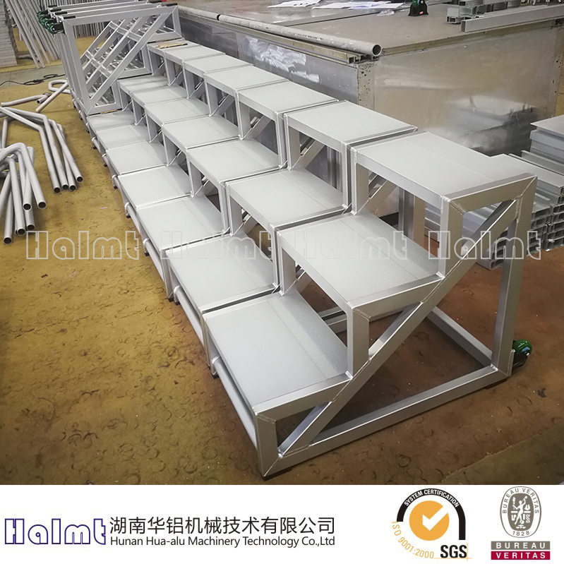 Portable Aluminum 3 Steps ladders for Factory