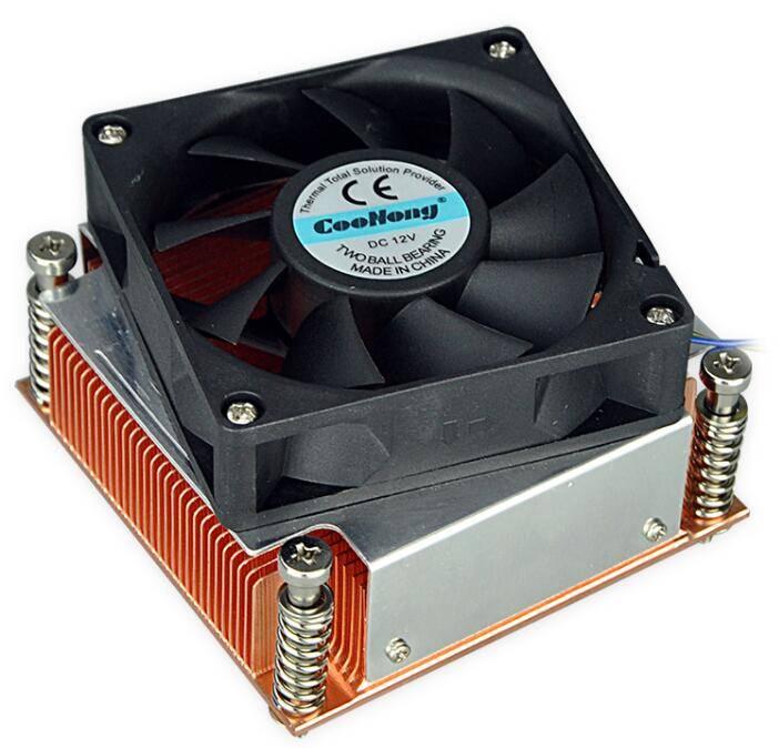 OEM ODM 1-2U Server Intel 775/776 copper radiator