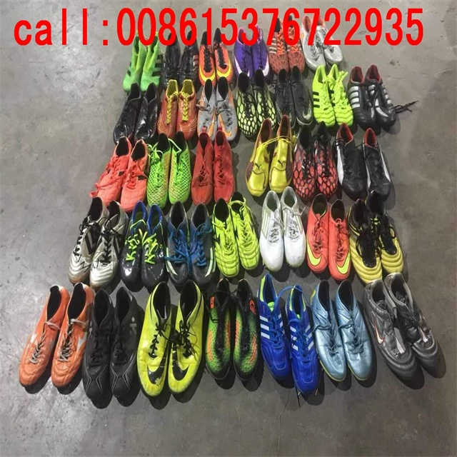 European Used Big Size Football Shoes