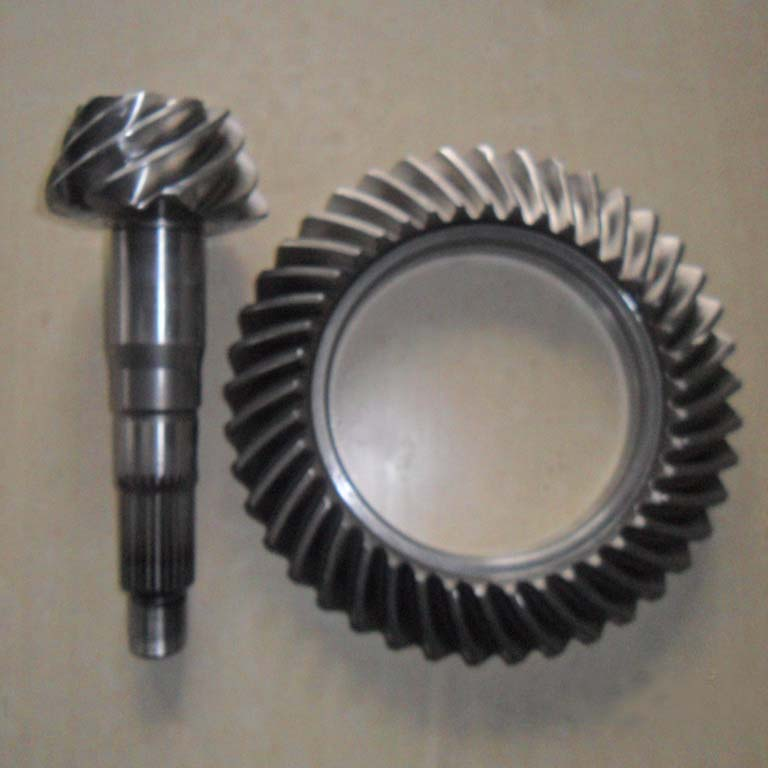 JMCG Front Axle Spiral Bevel Gear For Differential/Reducer