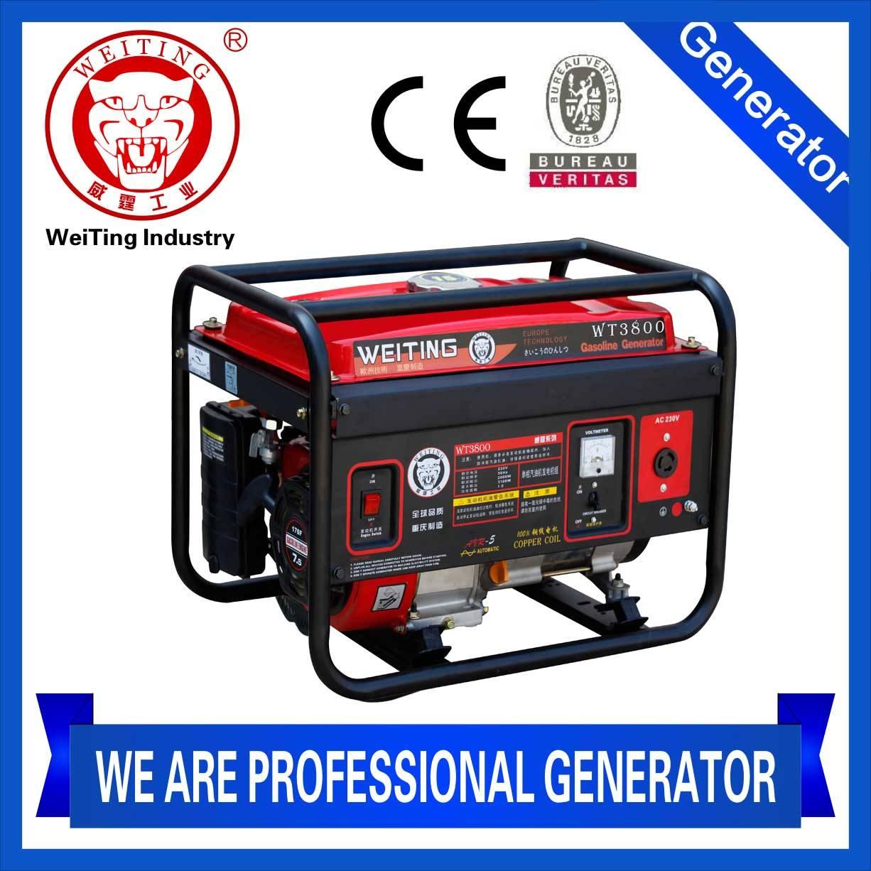 WT3800 gasoline generator