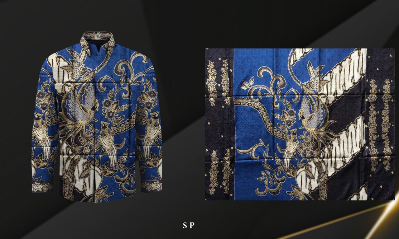 Handmade Prada Silk Batik Fabrics, Style 15