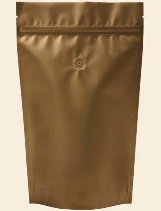 Zipper Coffee Bag / Coffee Bean Pouch