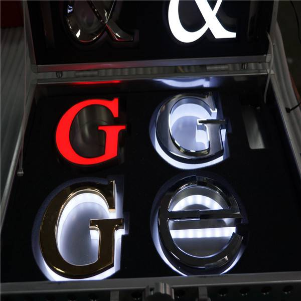 The Unique Pretty Custom PMMA Face lit led logo led channel letter signs