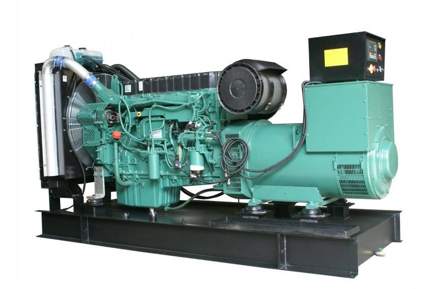 Silent/Open  type 3 Phase 50Hz Diesel 300kw Generator Head With VOLVO Engine Generator