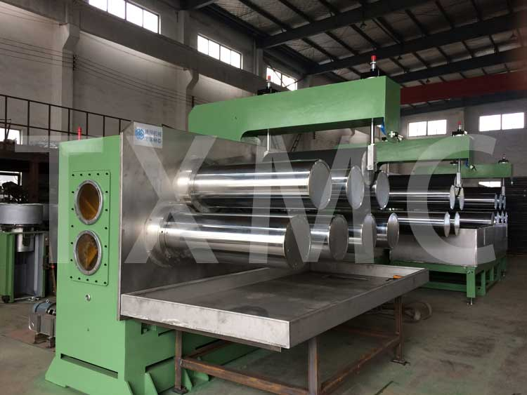 Drawing machine for fiber,PSF production line