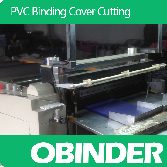 Obinder Pvc Binding Cover Cutting Service