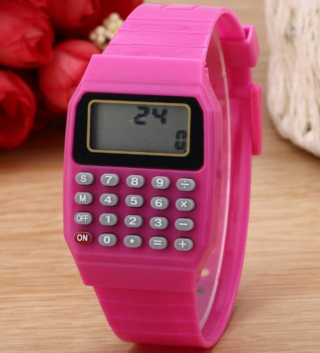 silicone watch wrist watches digital pocket watch